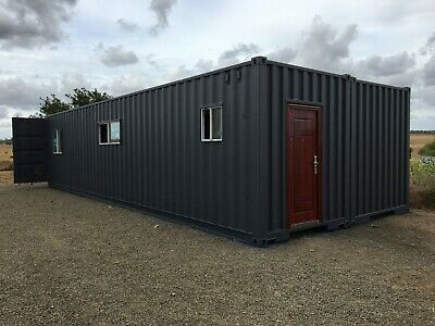 container shipping  relocatable demountable 2 40ft high cube office sleepout