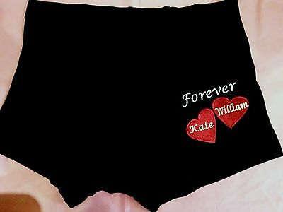 Mens Black Valentines Day Emoji Hearts Boxer Shorts 16 99 Picclick