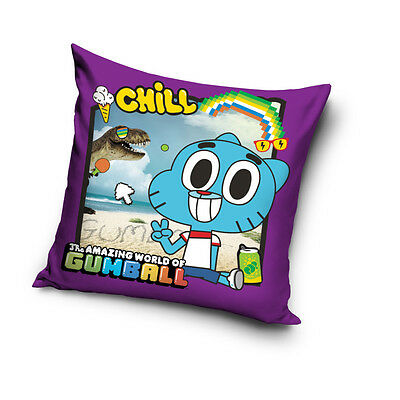 NEW THE AMAZING WORLD of GUMBALL Troublemaker 09 cushion cover 40x40cm