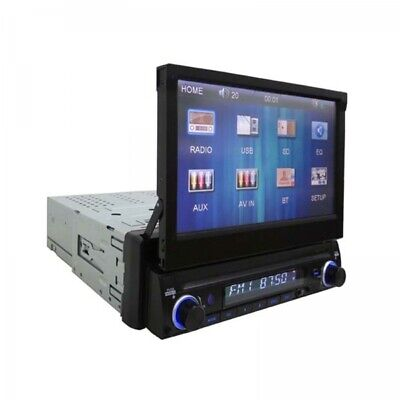 Majestic SV 493N BT Autoradio Buetooth RDS FM Stereo, Monitor a scomparsa TOUCH