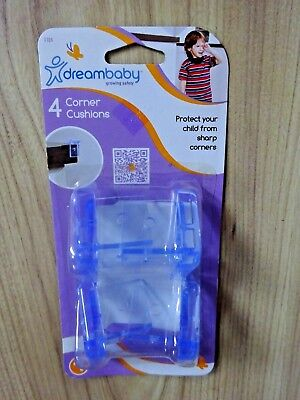 DREAMBABY KIDS Home Safety 4 Clear Corner Cushions Table & Shelf Guards Child
