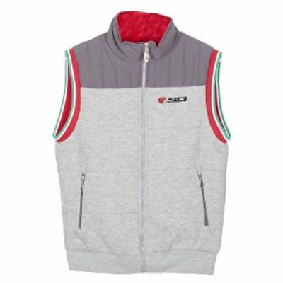 Sidi Casuals Mens Motorcycle Motorbike Wind stopper Gilet Grey Red
