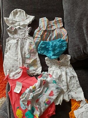 Baby Girl Clothes Summer Bundle Newborn / First Size / Up to 1 month
