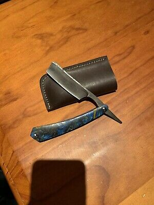 Custom made Damascus Steel Hunting Knife With Camel Bone Handle And Brass