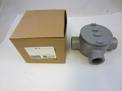 """Oz/gedney Guat100  1"""" Explosion Proof Type Gua Outlet Box  Grt100  Guat36"""
