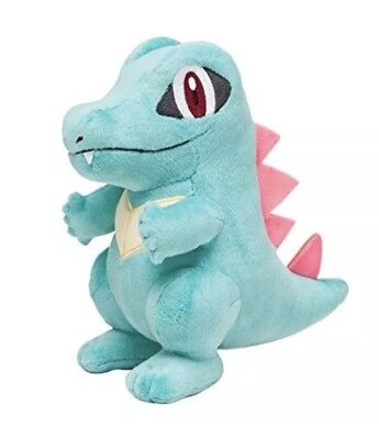 """New Authentic Pokemon Center Plush Standard Totodile 6"""" Official"""