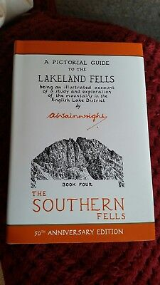 Wainwrights A Pictorial Guide To Lakeland Fells -The Southern Fells- Book 4. NEW