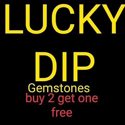 Mystery lucky prize dip filled with rocks or fossils or gemstones