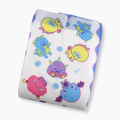 Adult Nappy / Diaper Rearz Lil' Monsters - Medium - Pack of 2 Samples