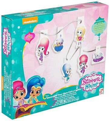 Shimmer & Shine Decorate Your Own Fairy Christmas Lights Bedroom Decoration