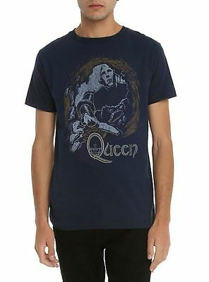 Queen News of the World Vintage Style T-Shirt SM, MD, LG, XL, XXL New