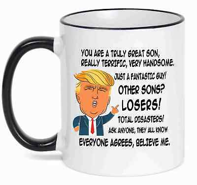Gift for SON, Donald Trump Great SON Funny Mug