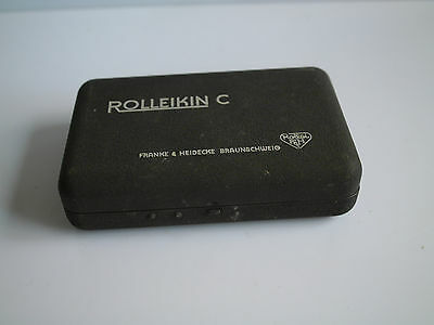 Rollei Rolleiflex Rolleikin C 35mm Adapter Converter Kit Case 120mm TLR Camera