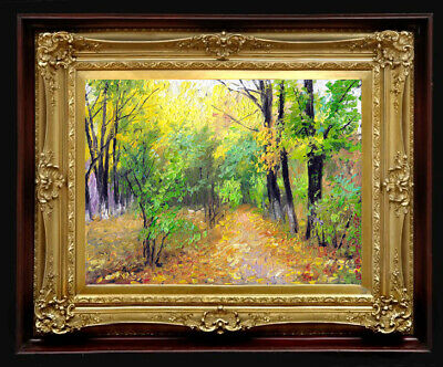 """Oil Painting PRINTED on Canvas Arseni ~ JOY OF BEING 40"""" X 30"""" Impressionism Art"""