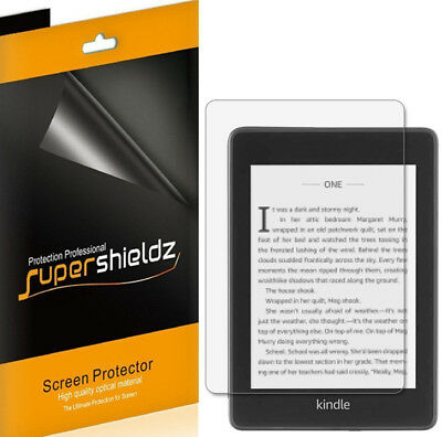 3X Supershieldz Clear Screen Protector Saver for Kindle Paperwhite (10th Gen)