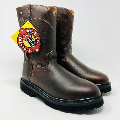 29e5b2c6854 JUSTIN WORK BOOTS 8