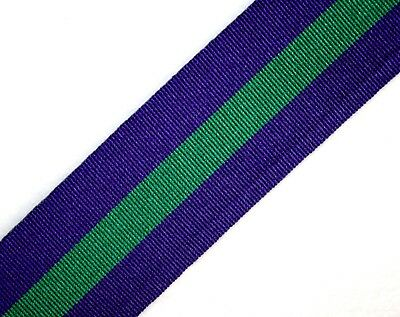 General Service Medal 1918-62 Full-Size Replacement GSM Ribbon; 15cm/30cm/1metre