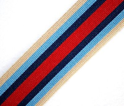 Operational Service Medal for Afghanistan Full-Size OSM Ribbon; 15cm/30cm/1metre