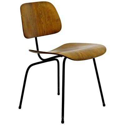 Mid Century Modern Early Ash Eames for Herman Miller DCM Side Chair 1950s