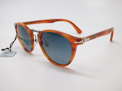 7b243ec0ea7 Persol PO 3108-S 960 S3 Brown w Light Blue Gradient Polarized Sunglasses