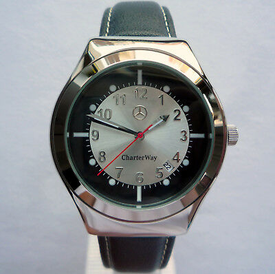 RARE Mercedes Benz Charter Way Collection Design Made in Germany Sport Watch