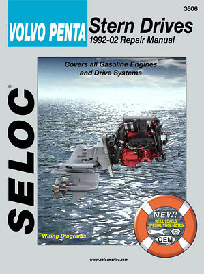 Seloc Repair Manual Volvo Penta Stern Drives - Gas Engines 1992-2002 - 18-03606
