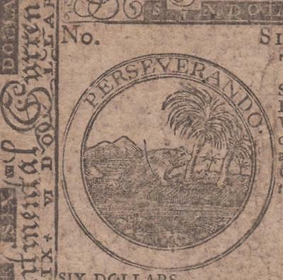 CC-59 PCGS VF35 $6.00 Feb. 26, 1777 Continental Note {signed by Benjamin Levy}