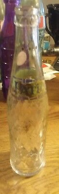 Patio (10oz) ~ Soda Pop Glass Bottle ~ A Product of Pepsi-Cola Co. ~ Green Label