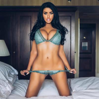 Abigail Ratchford Kneeling On The Bed 8x10 Quality Photo Print