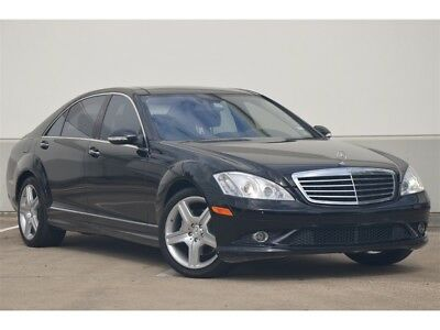 2008 S-Class S550 2008 S550 NIGHTVISION PANO ROOF REAR SHADES HK SOUND HTD/AC SEATS CLEAN
