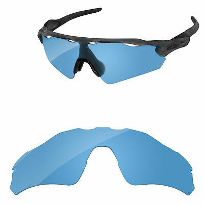 f6e04df73e PapaViva Polarized Replacement Lenses For-Oakley Radar EV Path - Crystal  Blue