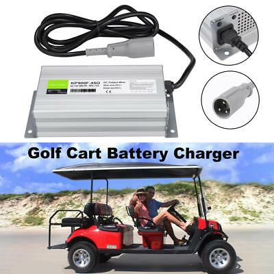 Automatic Club Golf Cart Battery Charger Powerdrive Round 3Pin Plug 48 Volt  1