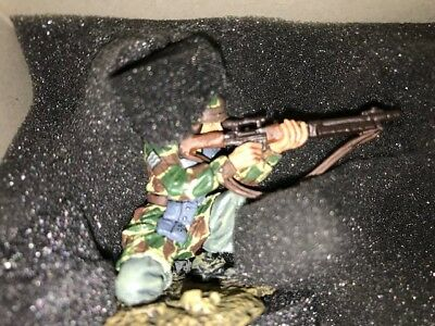 Thomas Gunn WW2 German Fallschirmjager FJ42 Sniper Normandy GC001A RETIRED RARE!