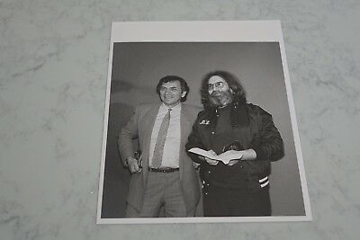 Jerry Garcia & Bill - 8 x 10 Original Print - Backstage Picture - Cool and Rare!
