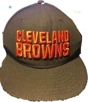 quality design add53 ccb80 ... coupon code for cleveland browns new era nfl onfield 59fifty cap hat sz  6 5 8