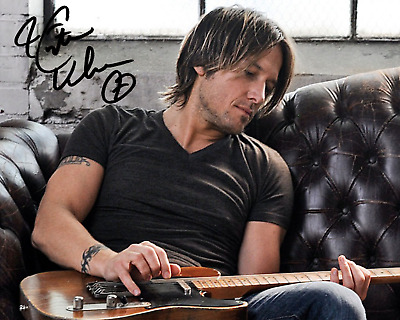 Keith Urban Signed Autographed Reprint 8X10 Color Photo Poster Glossy Country
