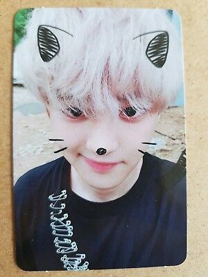 EXO CHANYEOL MODERATO USA Official PHOTOCARD [DON'T MESS UP MY TEMPO] 5th Album