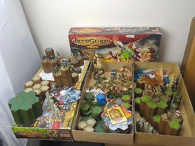 Heroscape Master Set Rise of The Valkyrie & Swarm of Marrow - 2 Sets Incomplete