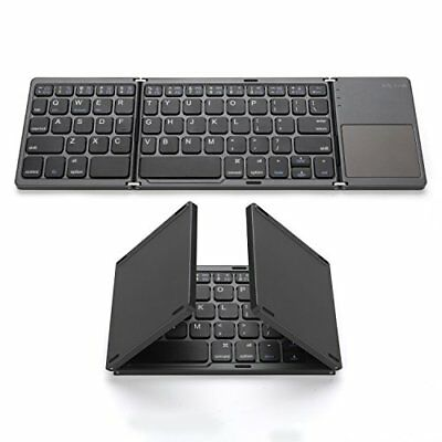 Foldable Bluetooth Keyboard, Jelly Comb Pocket Size Portable Mini BT Wireless