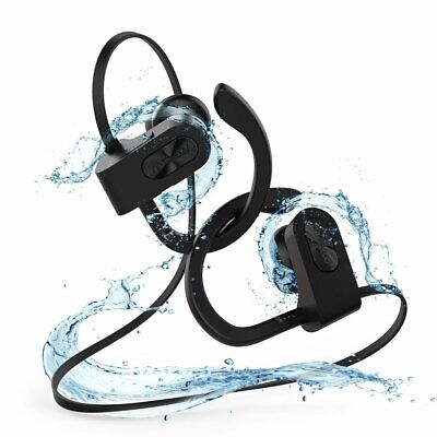 Mpow Bluetooth Headphones Sports Swimming Wireless Stereo Bass Headset Earbuds