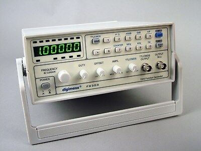 NEW digimess FG303 3MHz DDS function generator