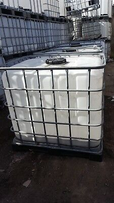 IBC TANK White IBCs - 1000Litre - Used - Can Deliver