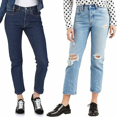 Levi's 501 Jeans - Cropped Womens Denim Jean - Assorted Colours
