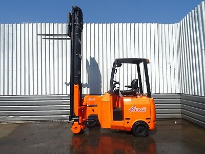 BENDI B318. 8000mm LIFT. USED ELECTRIC FORKLIFT TRUCK. (#2085)