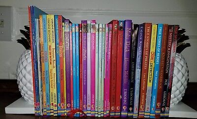 Usborne Mixed Lot of 38 Beginners First Reading Classics Fairies Spies Horses