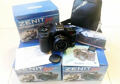 Zenit KM PLUS (KM+)! Brand New from KMZ - USSR SLR 35mm Film Camera with KIT
