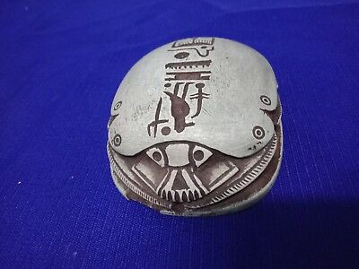 The Pharaonic Scarab is a mascot, a hunter of perversity and envy