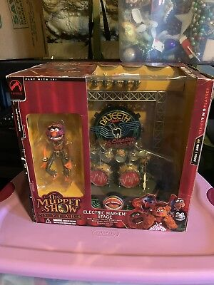 The Muppet Show Electric Mayhem Animal Playset Palisades Figure MISB
