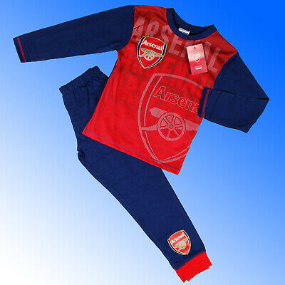 Boys Authentic Official Arsenal FC Football AOP Pyjamas #AFC Age 2-12 Years