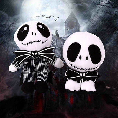 Fun The Nightmare Before Christmas Cool Skellington Jack Soft Plush Doll Gift